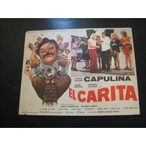 El Carita Capulina Lobby Card Cartel Poster