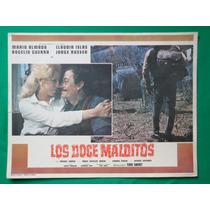 Mario Almada Los Doce Malditos Claudia Islas Cartel De Cine