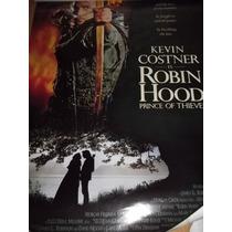 :: Robin Hood - Kevin Kostner :: Poster Cine Original ::