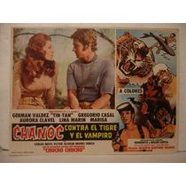 Tin Tan ,chanoc Contra El Tigre Y El Vampiro Cartel De Cine