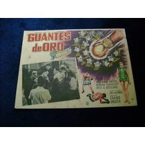 Guantes De Oro Kid Azteca Lobby Card Cartel Poster Cartel D