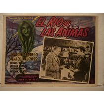 Joaquin Cordero , El Río De Las Animas , Cartel De Cine