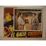 Miguel Aceves Mejía , El Gallo Colorado , Cartel De Cine