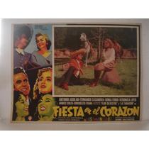 Fernando Casanova, Fiesta En El Corazón , Cartel De Cine