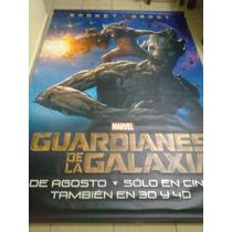 Guardianes De La Galaxia: Lonas Originales De Cine