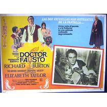 Lobby Cards,carteles,elizabeth Taylor (doctor Fausto)
