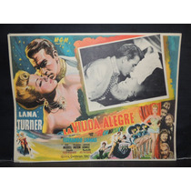 Lana Turner, La Viuda Alegre / The Merry Cartel Lobby Card
