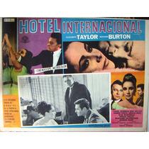 Lobby ,carteles,elizabeth Taylor, Hotel Internacional