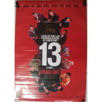 Póster De Cine: 13 A Uno 70x100 Cm