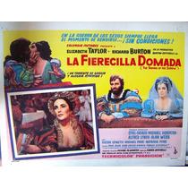 Lobby Cards,carteles,elizabeth Taylor La Fierecilla Domada