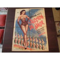 Poster Original Una Leccion De Amor Christiane Martel 1956