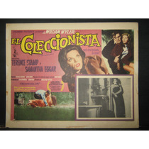 Samantha Eggar, El Coleccionista / The C Cartel (lobby Card)