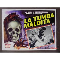 La Tumba Maldita Horror Terror Original Cartel De Cine 1973