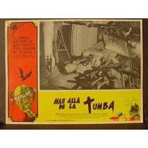 Mas Alla De La Tumba Terror Original Horror Cartel De Cine