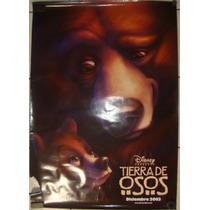 Póster De Cine: Tierra De Osos 70x100 Cm