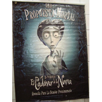 Lona De Cine Original: El Cadáver De La Novia 149x215 Cm