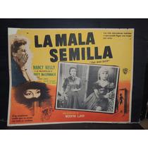Nancy Kelly, La Mala Semilla / The Bad Seed Cartel Lobby Car