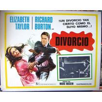 Lobby Cards,carteles,elizabeth Taylor(divorcio)
