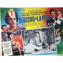 Lobby Cards,carteles,yolanda Varela,peliculas