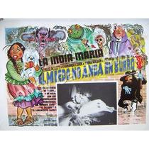 Lobby Cards,carteles,india Maria,peliculas