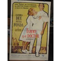 Tammy Y El Doctor, Sandra Dee, Peter Fonda Poster 1963