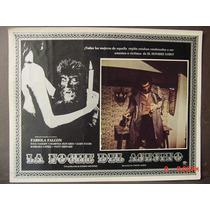 La Noche Del Asesino Terror Hombre Lobo Cartel De Cine 1974