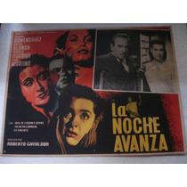 Pedro Armendariz , La Noche Avanza , Cartel ( Lobby Card )