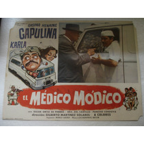 Capulina , El Médico Módico , Cartel ( Lobby Card )