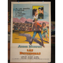 Las Defensoras, Audie Murphy, Kathryn Grant Poster 1957