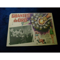 Guantes De Oro Kid Azteca Lobby Card Cartel Poster Cartel E