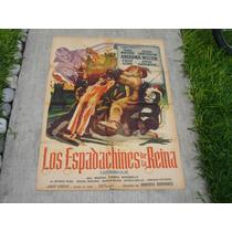 Enano Santanon, Los Espadachines De La Reina,poster De Cine