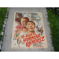 Tonina Jackson, El Hijo De Huracán Ramírez , Poster De Cine