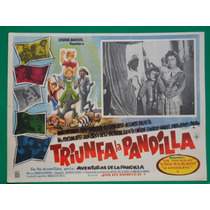 Angelica Maria Triunfa La Pandilla Original Cartel De Cine