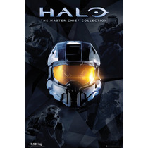 De Halo Poster - Jefe Maestro Collection Bed Room Sala De Ju