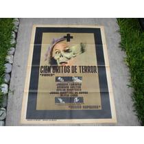 Joaquin Cordero, Cien Gritos De Terror , Poster De Cine