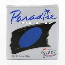 Paraíso Cara Pinturas - Azul Oscuro Dbl (1,4 Oz / 40 G) Por