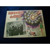 Guantes De Oro Kid Azteca Lobby Card Cartel Poster Cartel F