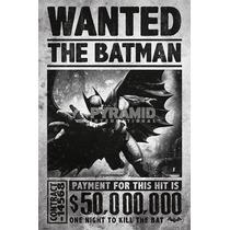 Batman Cartel - Arkham Origins Se Buscan 61cmx 91.5cm Maxi