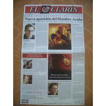 Spiderman Diario El Clarin Poster Promocional Pelicula