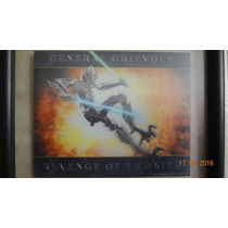 Poster 3d Lenticular De General Grievous Star Wars Enmarcado