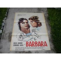 Hilda Aguirre , Barbara , Poster De Cine