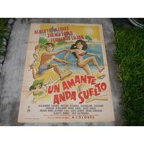 Alberto Vazquez, Un Amante Anda Suelto, Poster Cine
