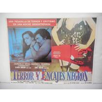 Maribel Guardia, Terror Y Encajes Negros, Cartel De Cine