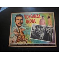 La Venganza India Pedro Armendariz Lobby Card Cartel Poster