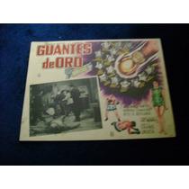 Guantes De Oro Kid Azteca Lobby Card Cartel Poster Cartel C