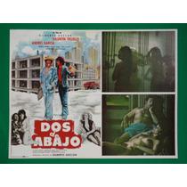 Valentin Trujillo Dos De Abajo Sexy Topless Cartel De Cine