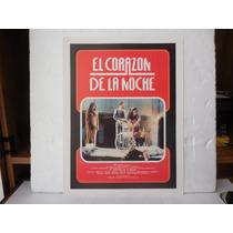 Pedro Armendariz, El Corazon De La Noche, Cartel De Cine