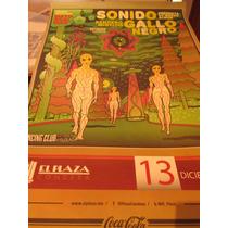 Cartel De Sonido Gallo Negro Poster Edición Limitada