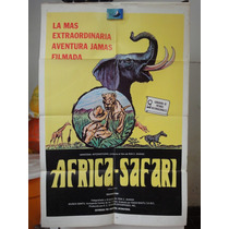 Poster African Safari Rivers Of Fire And Ice Ronald Shanin