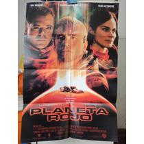 Poster Planeta Rojo Val Kilmer Carrie-anne Moss Tom Sizemore